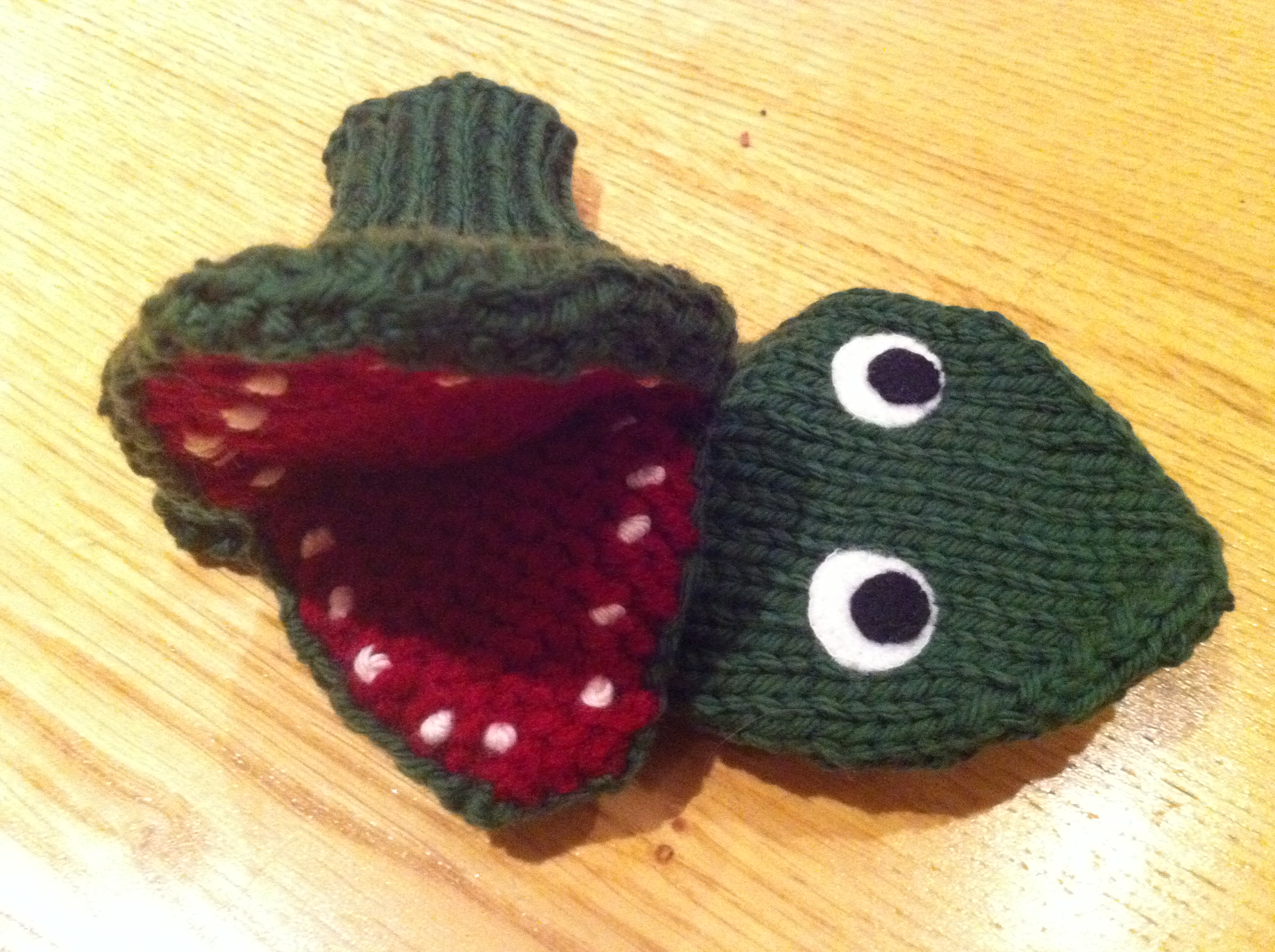 Looking back at 2011   Children s hat and crocodile puppet ...